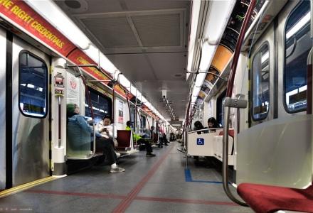 TTC Subway Train interior