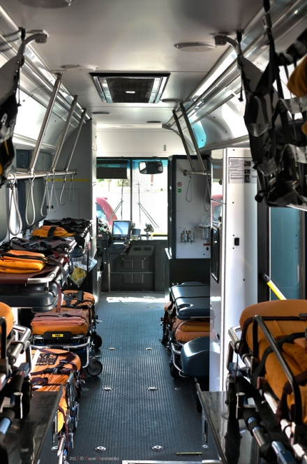 EMS ESU vehicle - interior
