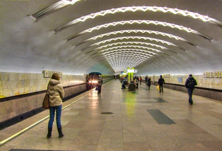 Perovo Subway Station, Moscow