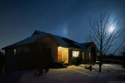 Canadian Winter Night